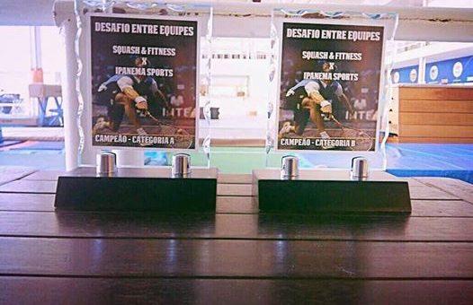 Desafio entre academias – Ipanema Sports e Squash & Fitness