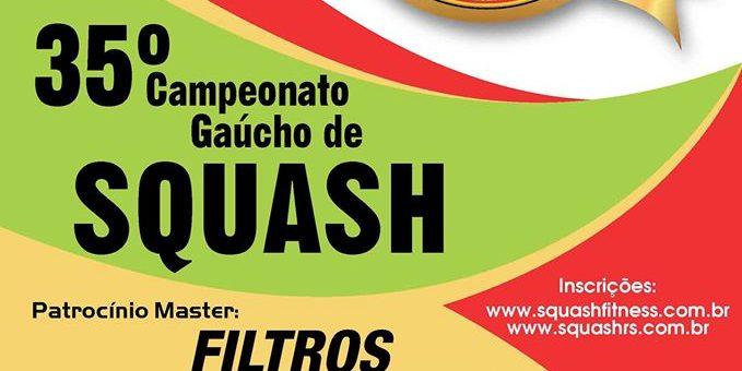 Gauchão – Campeonato Gaúcho de Squash 2016